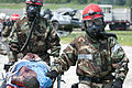 11th Engineer Battalion Soldiers train to evacuate survivors of a nuclear blast 140724-A-PC120-069.jpg