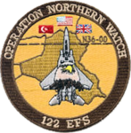 122d Expeditionary Fighter Squadron Operation Northern Watch Patch.png
