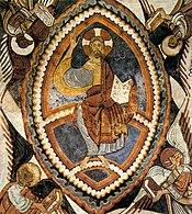 12th century unknown painters - Christ Pantocrator - WGA19699
