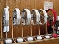 138 mNACTEC, la Fàbrica Tèxtil, màquina de preparar rodets.jpg
