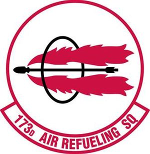 173d Air Refueling Squadron - Image: 173rd Air Refueling Squadron emblem