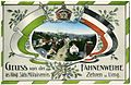 17789-Zehren-1914-Festkarte Fahnenweihe - Ortsansicht-Brück & Sohn Kunstverlag.jpg