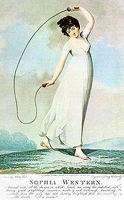 Une représentation de saut à la corde (1800)