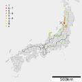 1833 Dewa Echigo earthquake intensity.png