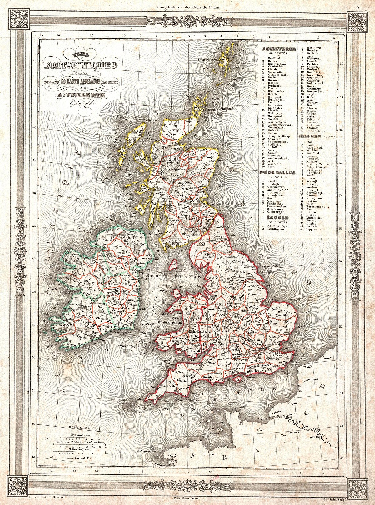File 1852 Vuillemin Map Of The British Isles England