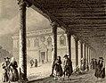 1853, Recuerdos y bellezas de España, Castilla la Nueva, tomo II, Palacio de los Duques de Medinaceli, en Cogolludo (cropped).jpg