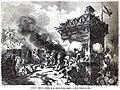 1871-05-05, La Ilustración Española y Americana, Ataque y heroica defensa de la torre óptica Colón (20 de febrero de 1871).jpg