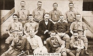 1887 Philadelphia Athletics season - 1887 Philadelphia Athletics team photograph