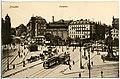 18933-Dresden-1915-Postplatz mit Straßenbahnen-Brück & Sohn Kunstverlag.jpg