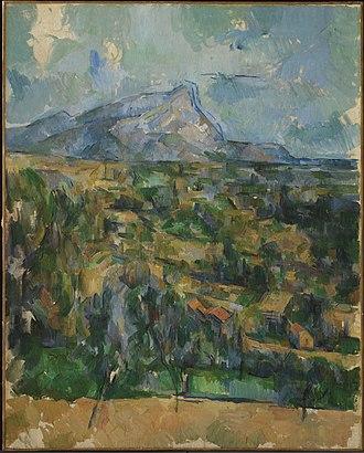 Mont Sainte-Victoire (Cézanne) - Image: 1904, Cézanne, Mont Sainte Victoire