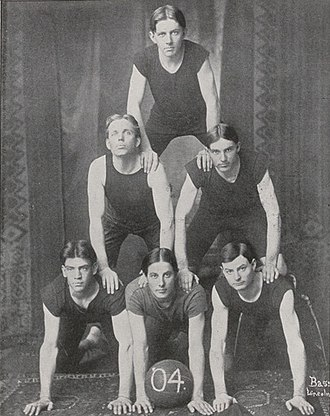 Nebraska Cornhuskers men's basketball - The 1904 junior team