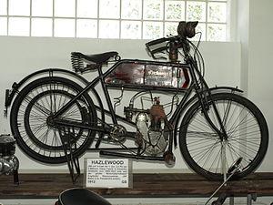 Hazlewoods Limited - Image: 1912 Hazlewood motorcycle
