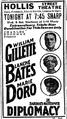 1915 HollisStTheatre BostonGlobe January4.png