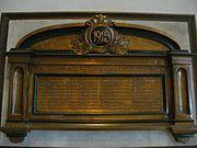1915 Singapore Mutiny Memorial Tablet