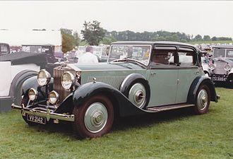 Arthur Mulliner - Sports saloon 1933 on a Rolls-Royce Phantom II Continental chassis