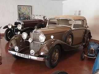 Mercedes-Benz 380 (1933) car model