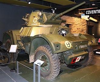 Daimler Armoured Car - Image: 1943 Daimler Armoured Car Mark 1