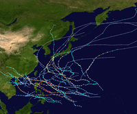 1954 Pacific typhoon season summary map.png