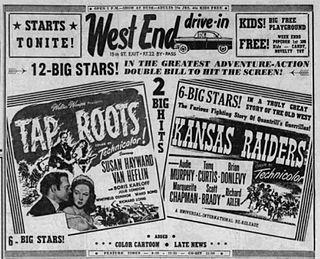 <i>Kansas Raiders</i> 1950 film by Ray Enright
