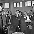 1957 Visite du ministre de l'agriculture Mr ANDRE DULIN au CNRZ-18-cliche Jean Joseph Weber.jpg