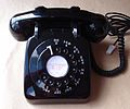 1960s GEC New Gecophone 706 Black Rotary Dial Telephone.JPG