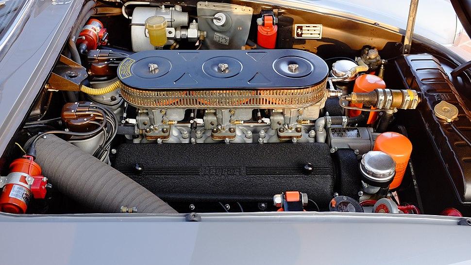 1963 Ferrari 250 GT Lusso Engine Compartment