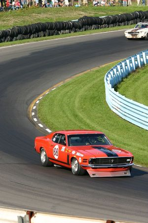 Boss 302 Mustang - 1970 Mustang Boss 302 race car