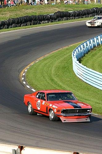 Boss 302 Mustang - 1970 Mustang Boss 302 race car