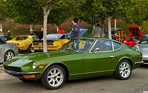 Nissan S30 - 1971.5-72 Datsun 240Z Series II (U.S. Model) in color code 113 green metallic
