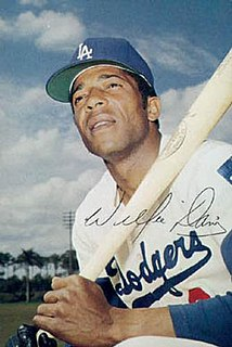 Willie Davis (baseball) American baseball player