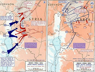 Golan Heights campaign
