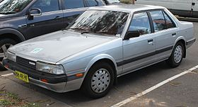 1985 Mazda 626 (GC Series 2) Super Deluxe sedan (25041581313).jpg