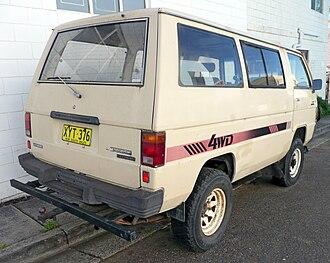 Mitsubishi Delica - 1984–1985 Mitsubishi L300 Express (SD) 4WD wagon (Australia)