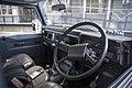 1991 Land Rover Defender 90 200TDI pickup in blue, interior.jpg