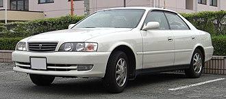 Toyota Chaser - Image: 1996 1998 Toyota Chaser