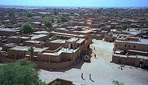 Niger-Città principali-1997 277-16A Agadez hotel