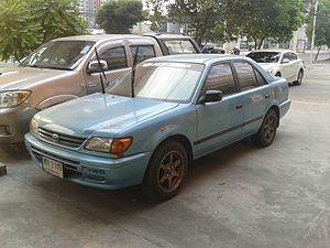 Toyota Motor Thailand - Image: 1997 Toyota Soluna (AL50) 1.5 G Li front
