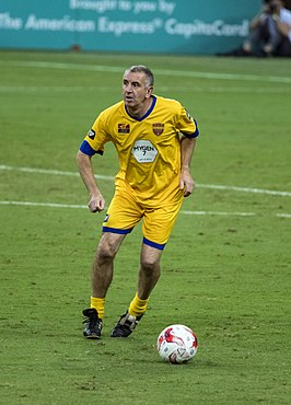 Nigel Winterburn in 2017, Arsenal masters