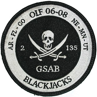 135th Aviation Regiment (United States) - Iraq expedition patch as part of 36th Combat Aviation Brigade