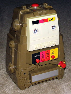 2-XL - The 2-XL educational toy robot distributed by Mego Corporation in 1978