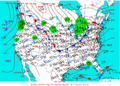 2003-01-13 Surface Weather Map NOAA.png