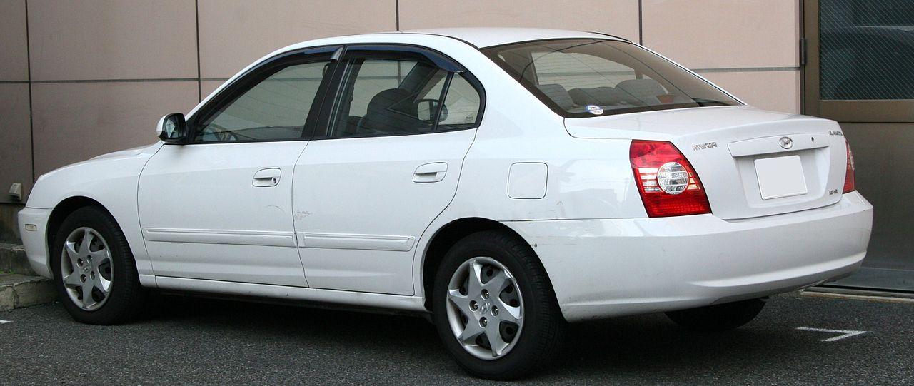 хендай-элантра 2003 фото