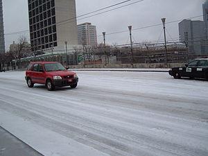 2005 29 Jan - Atlanta Ice Storm - North Ave Br...