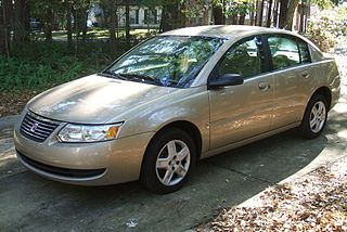 Saturn Ion Model of American car made 2003-2007