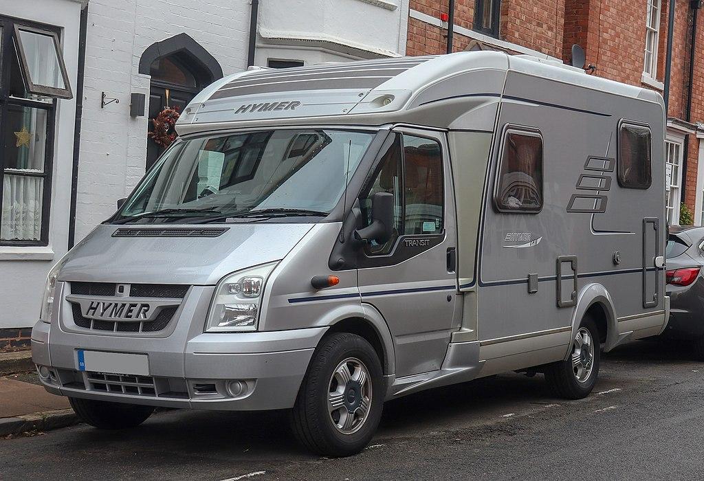 2007 Ford Transit-based Hymer Van 522 2.2