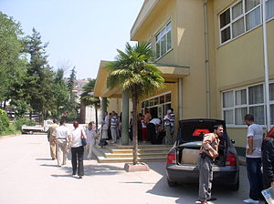 Turkish general election, 2007 - Votes were cast in schools such as this one