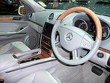 Mercedes-Benz GL 420 CDI. Interior