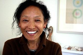 Sonam Dolma Brauen Tibetan-Swiss painter and sculptor