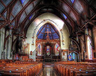Trinity Episcopal Church (Williamsport, Pennsylvania) - Church Interior