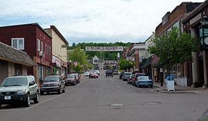 Bessemer, Michigan - Downtown Bessemer